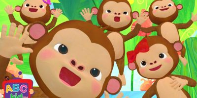 Five Little Monkeys Jumping on the Bed | | Cocomelon (ABCkidTV) Nursery Rhymes & Kids Songs