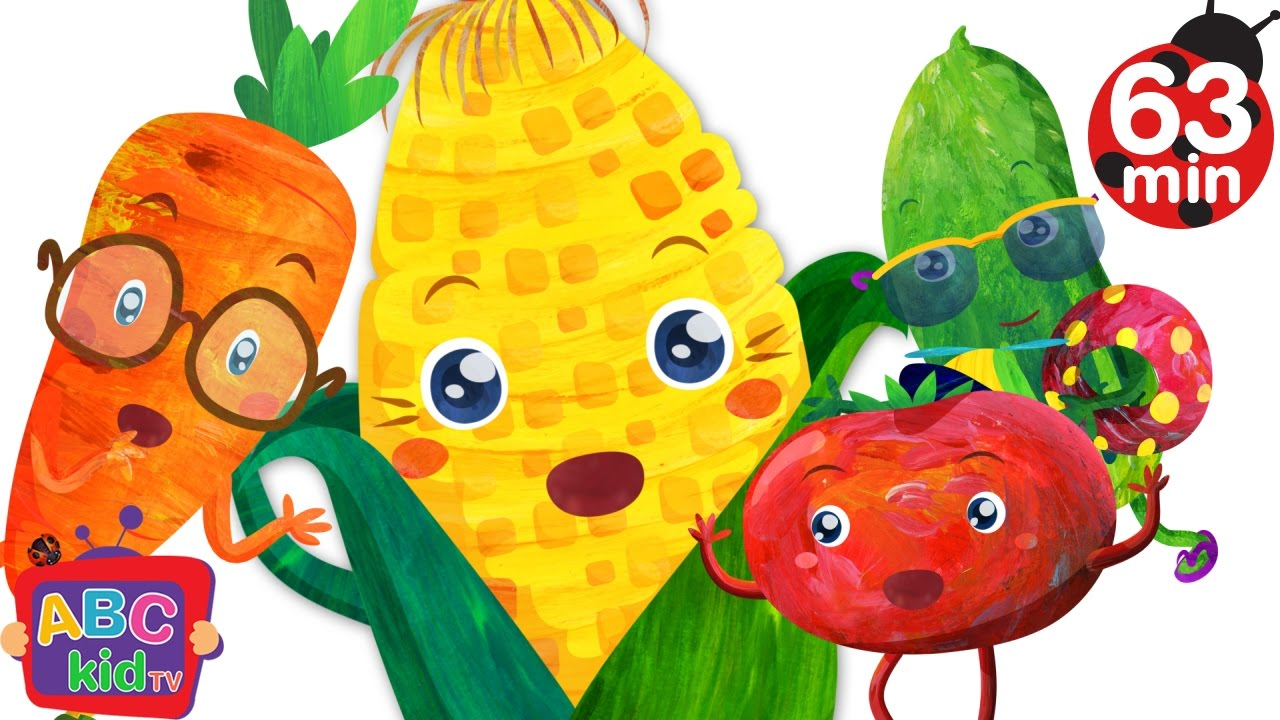 Vegetable Song (2D) | +More Nursery Rhymes & Kids Songs – Cocomelon (ABCkidTV)