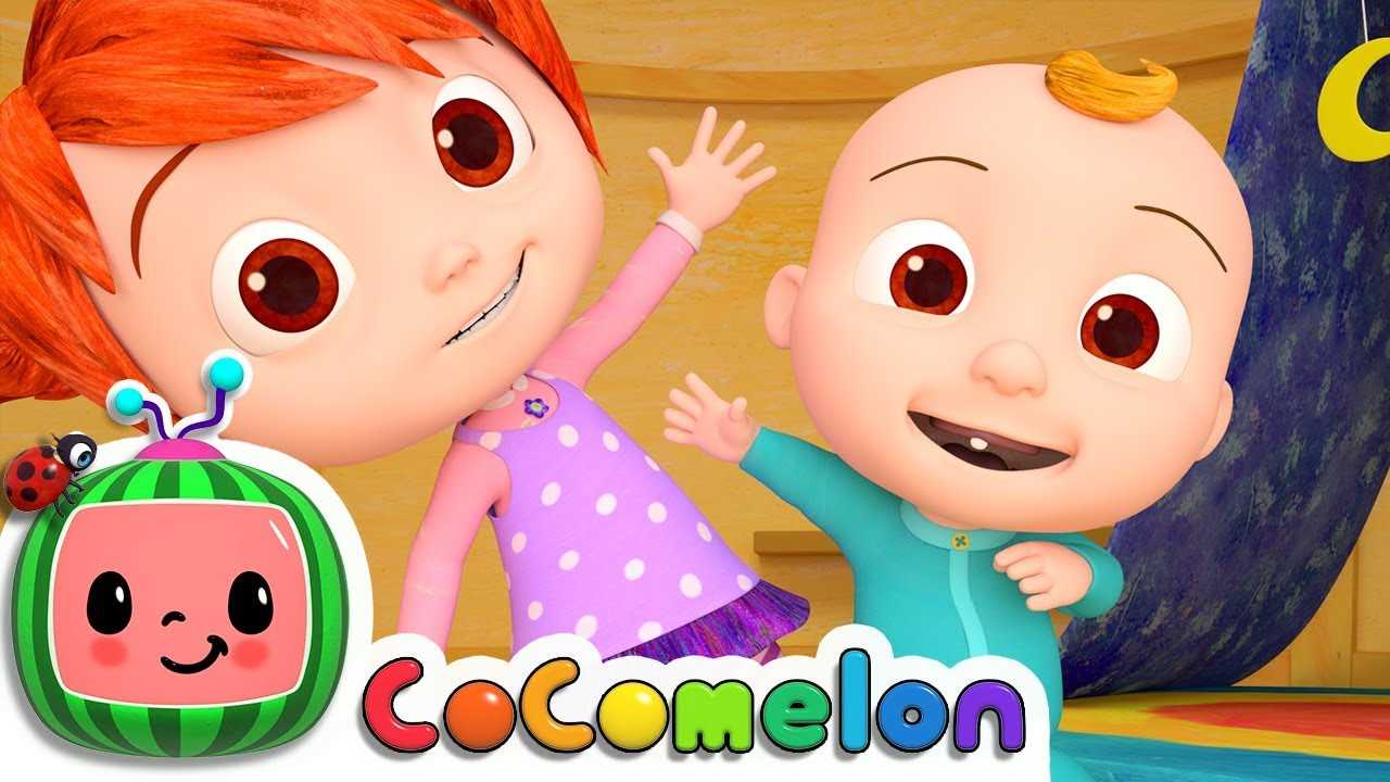 The Stretching and Exercise Song | Cocomelon (ABCkidTV) Nursery Rhymes & Kids Songs