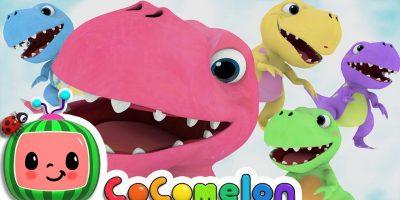 Five Little Dinosaurs | Cocomelon (ABCkidTV) Nursery Rhymes & Kids Songs