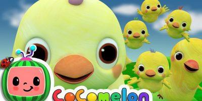 Five Little Birds 2  | Cocomelon (ABCkidTV) Nursery Rhymes & Kids Songs