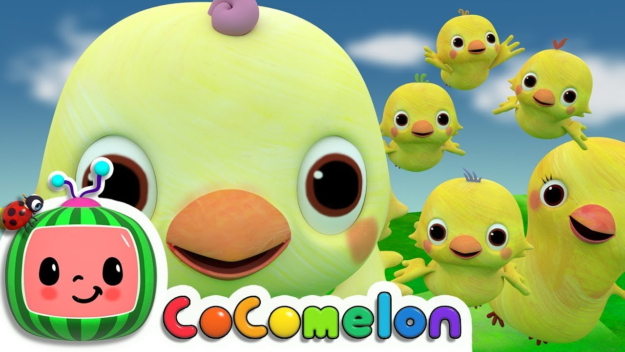 Five Little Birds 2    Cocomelon (ABCkidTV) Nursery Rhymes & Kids Songs