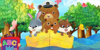 Row Row Row Your Boat (2D) | Cocomelon (ABCkidTV) Nursery Rhymes & Kids Songs