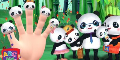Finger Family (Panda) | Cocomelon (ABCkidTV) Nursery Rhymes & Kids Songs