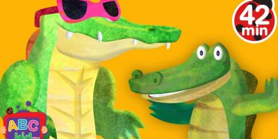Crocodile Alligator Song (2D) | +More Nursery Rhymes & Kids Songs – Cocomelon (ABCkidTV)