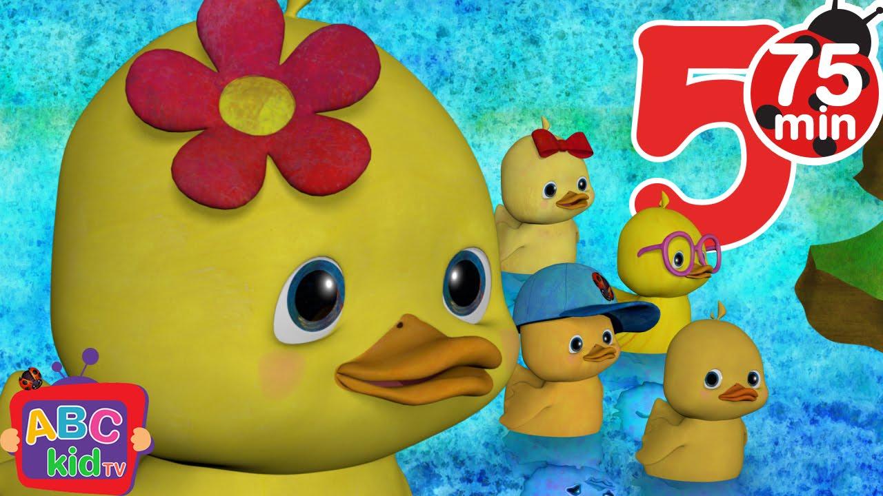 Five Little Ducks | +More Nursery Rhymes & Kids Songs – Cocomelon (ABCkidTV)