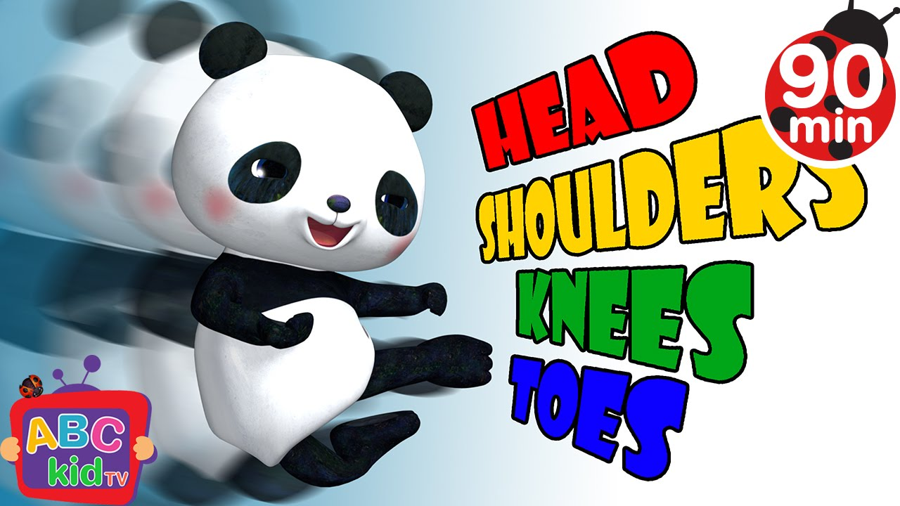Head Shoulders Knees and Toes 2 | +More Nursery Rhymes & Kids Songs – Cocomelon (ABCkidTV)