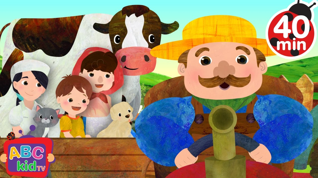 Farmer in the Dell (2D) | +More Nursery Rhymes & Kids Songs – Cocomelon (ABCkidTV)