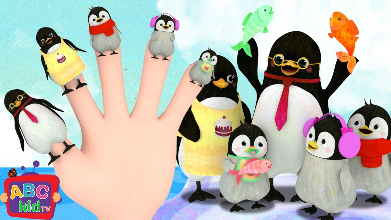 Finger Family – Penguin | Cocomelon (ABCkidTV) Nursery Rhymes & Kids Songs
