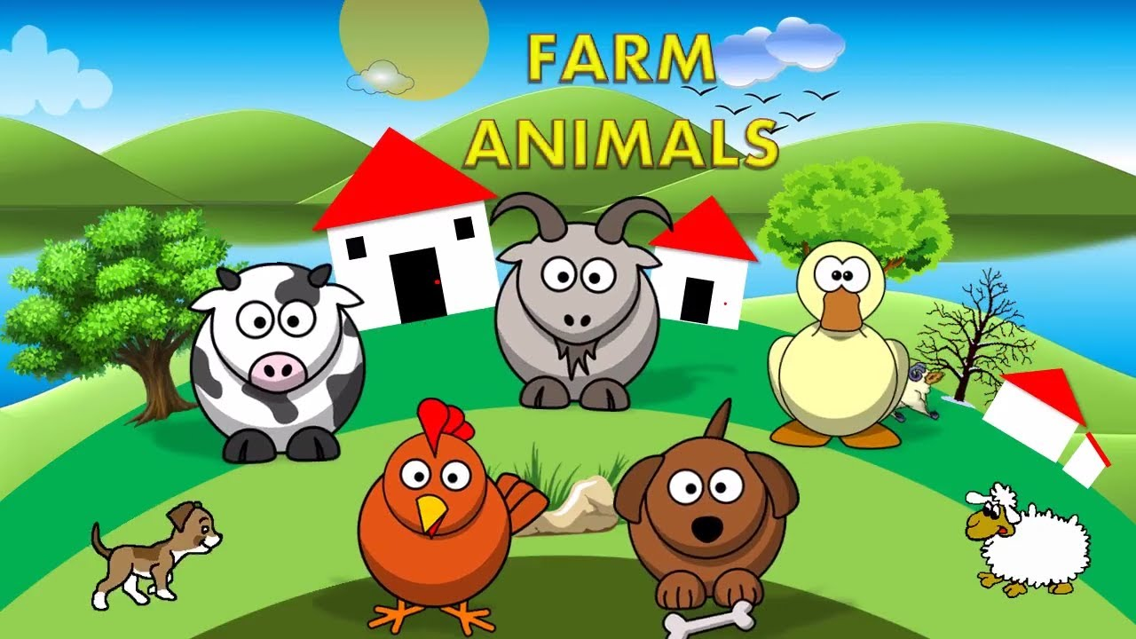 Finger Family Farm Animals | Nursery Rhymes & Kids Songs – ABCkidTV