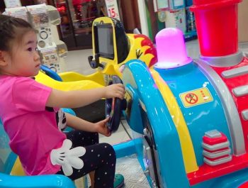 ABCkidTV Mika with Little girl Playing Indoor playground family fun at play center
