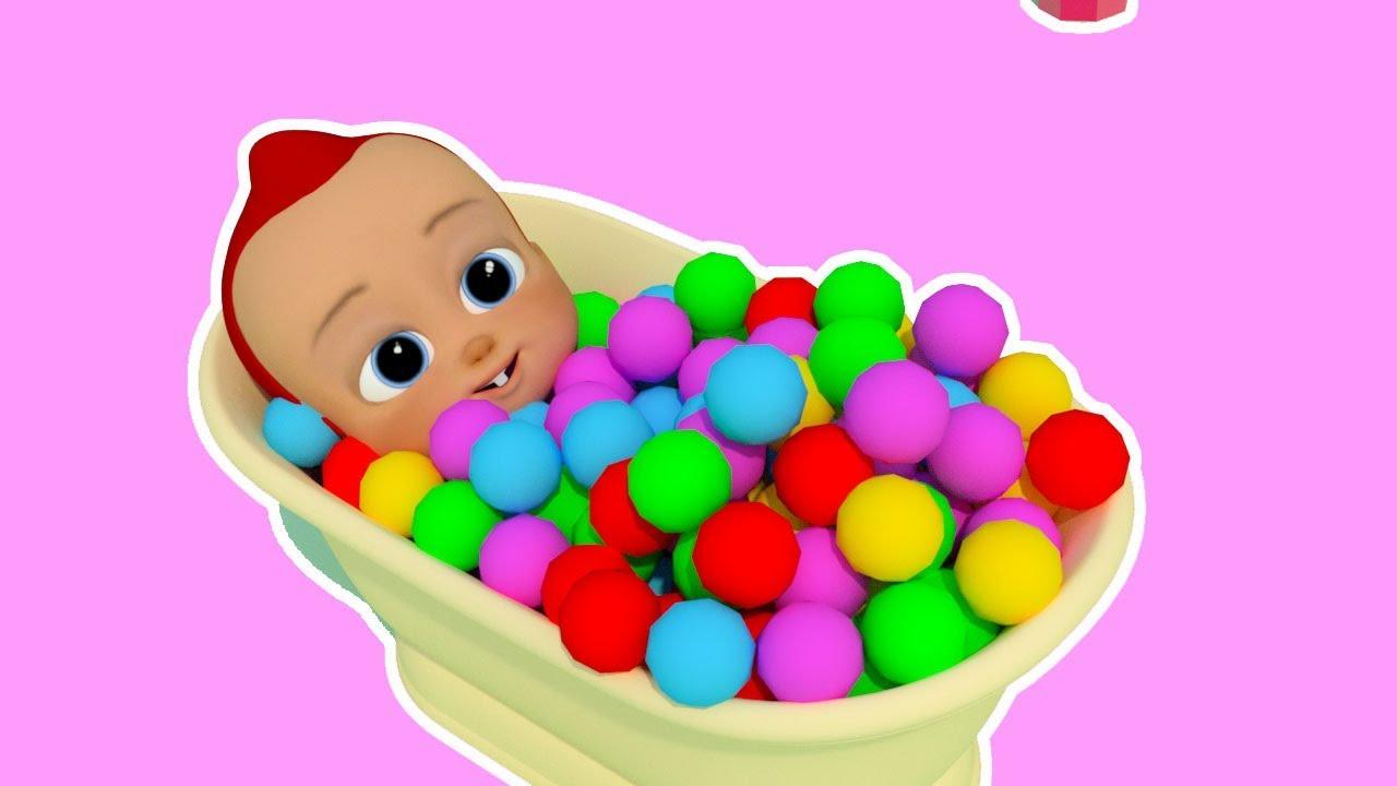 Bath Song | ABCkidTV Nursery Rhymes & Kids Songs Baby KidsTV – Nursery Rhymes