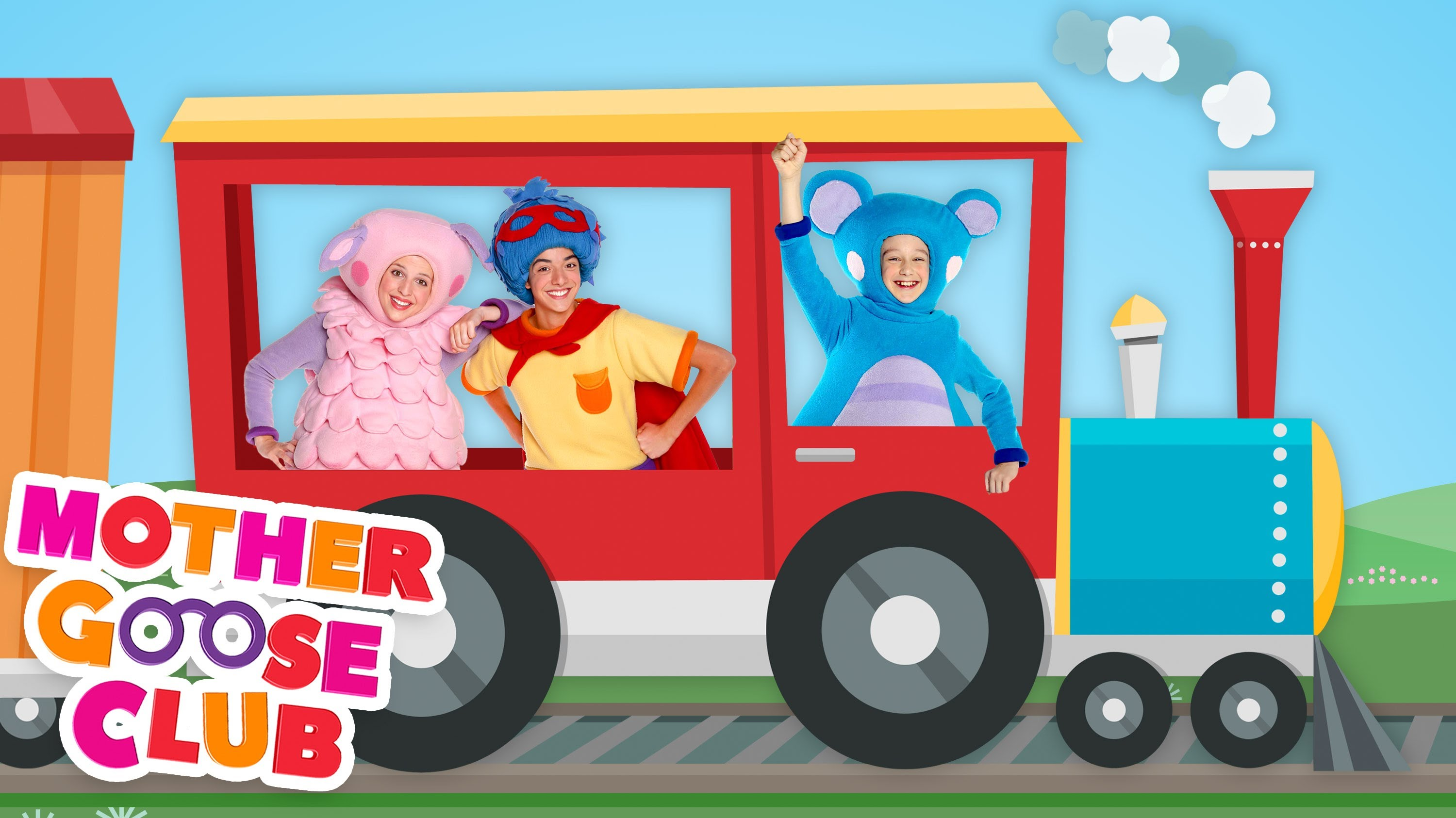 Freight Train | Mother Goose Club Rhymes for Children