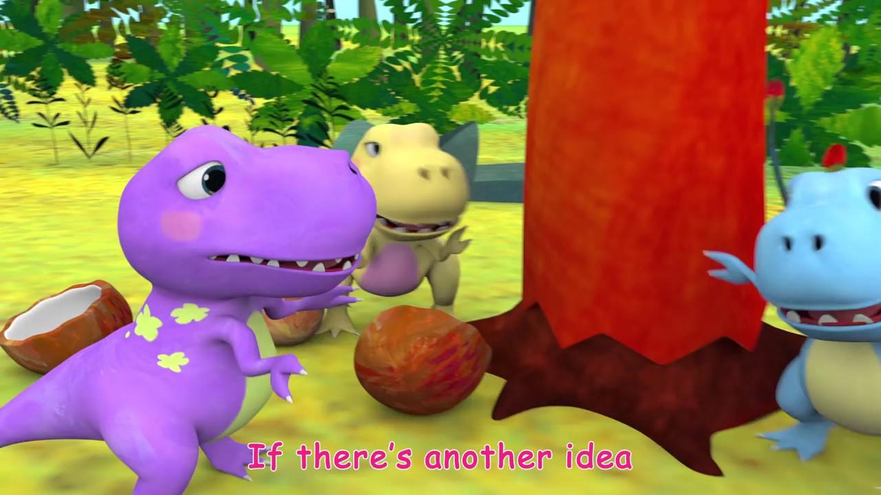 Five Little Dinosaurs   ABCkidTV
