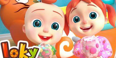 Johny Johny Yes Papa Nursery Rhymes & Kids Songs – Loky(ABCkidTV)