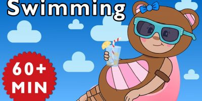 Swimming and More | Nursery Rhymes from Mother Goose Club!