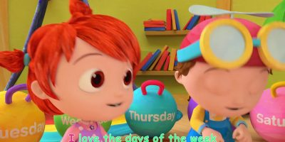 The Days of the Week Song   ABCkidTV