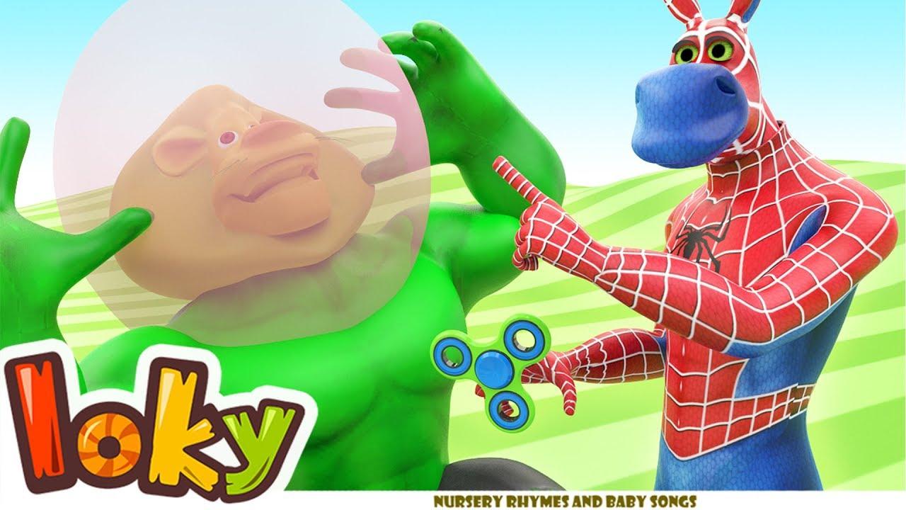 Animal Man & Funny Animated Cartoon – Loky(ABCkidTV) Ep05
