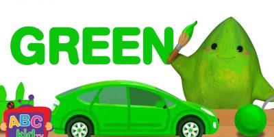 Color Song – Green | ABCkidTV