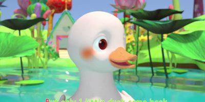Five Little Ducks   ABCkidTV