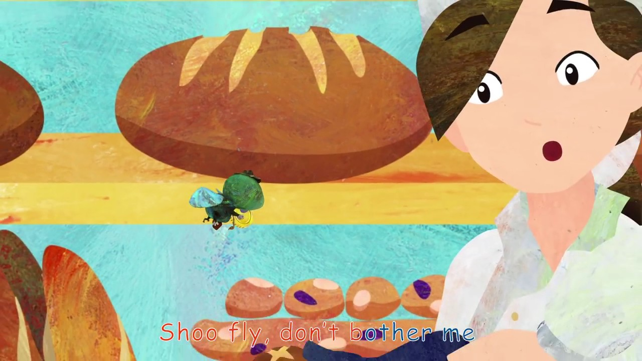 Shoo Fly, Don't Bother Me   Nursery Rhymes   ABCkidTV
