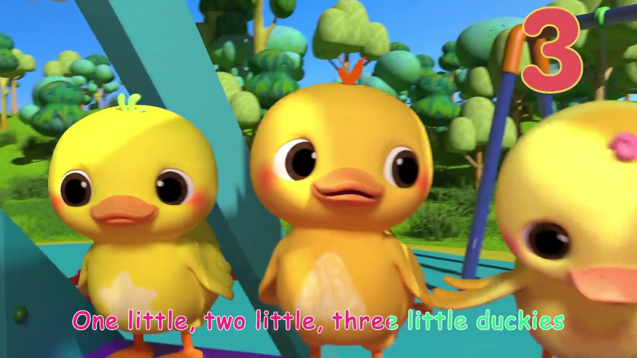 Ten Little Duckies (A Counting Song) | ABCkidTV Nursery Rhymes & Kids Songs  # 209