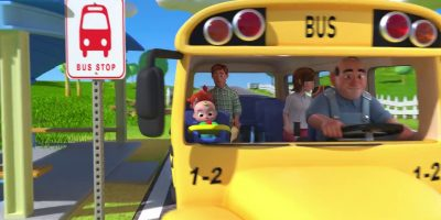 Wheels on a bus go round and round||(ABC KID TV)||