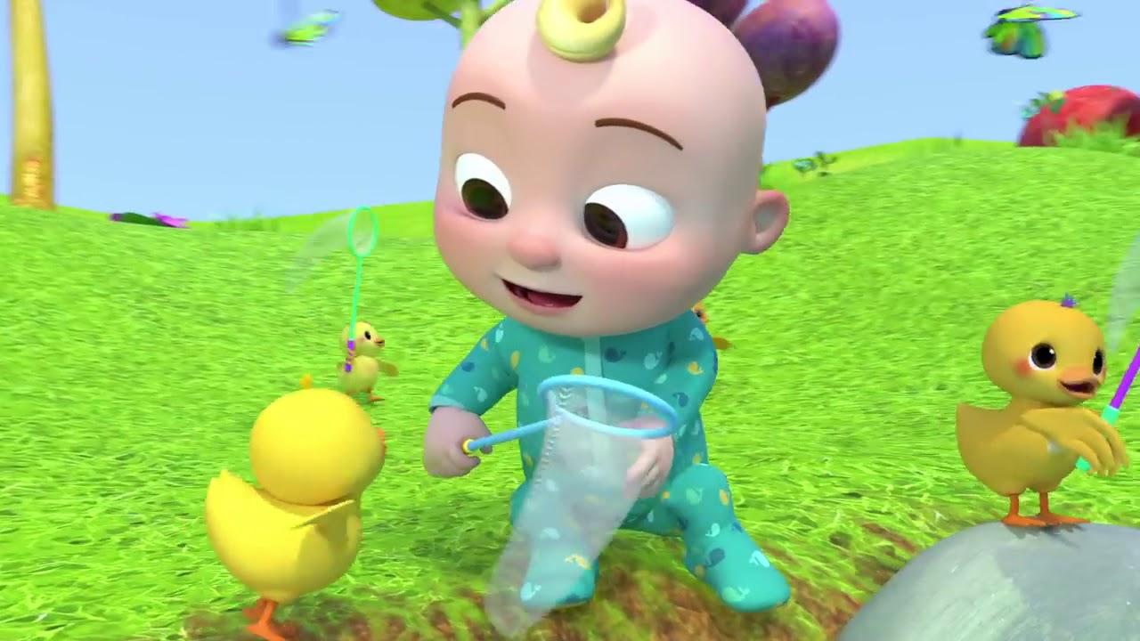#kiddy Five Little Ducks 2 Cocomelon (ABCkidTV) Nursery Rhymes & Kids Songs
