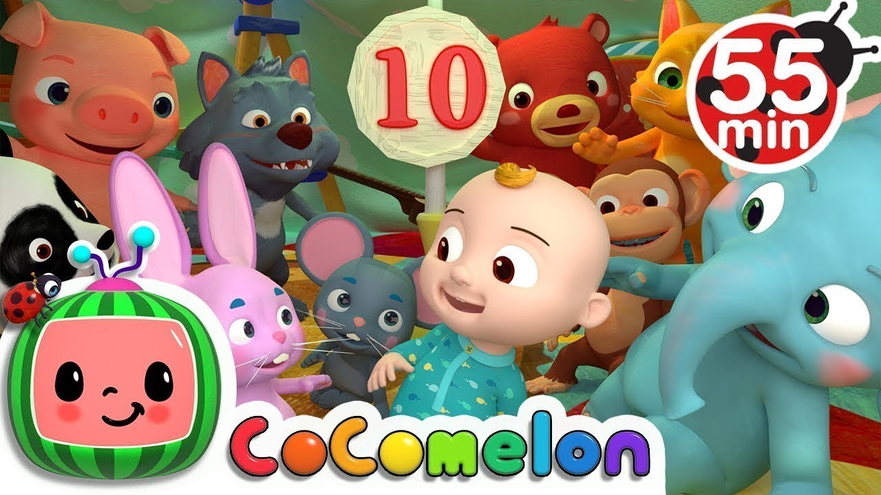 Ten in the Bed | +More Nursery Rhymes & Kids Songs – Cocomelon (ABCkidTV)