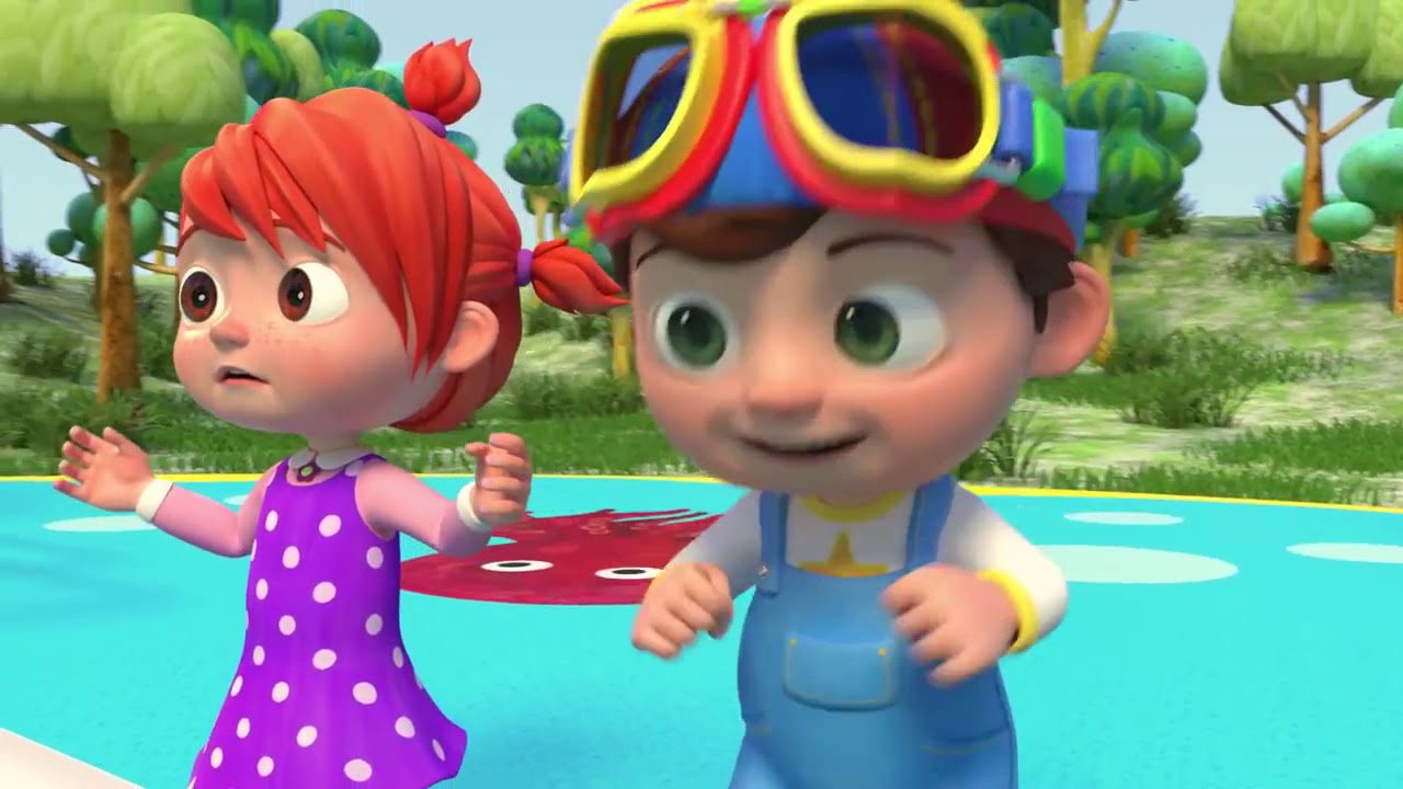 03 Balloon Boat Race ABCkidTV Nursery Rhymes & Kids Songs