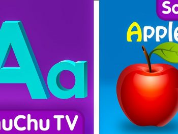Phonics Song with TWO Words – A For Apple – ABC Alphabet Songs with Sounds for Children
