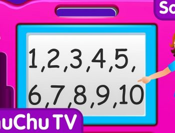 ChuChu TV Numbers Song – NEW Short Version – Number Rhymes For Children