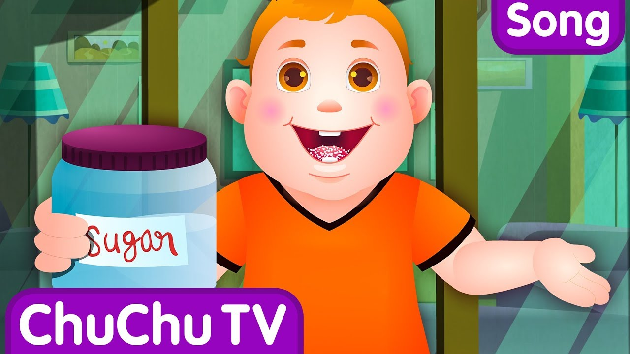 Johny Johny Yes Papa Nursery Rhyme – Cartoon Animation Rhymes & Songs for Children