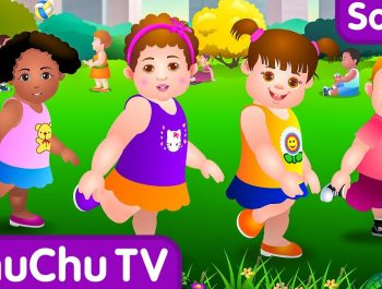 Head, Shoulders, Knees & Toes – Exercise Song For Kids