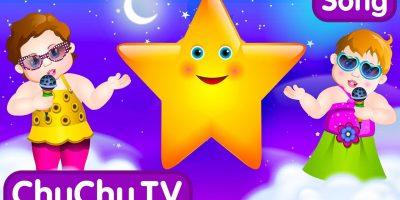 Twinkle Twinkle Little Star Rhyme with Lyrics – English Nursery Rhymes Songs for Children