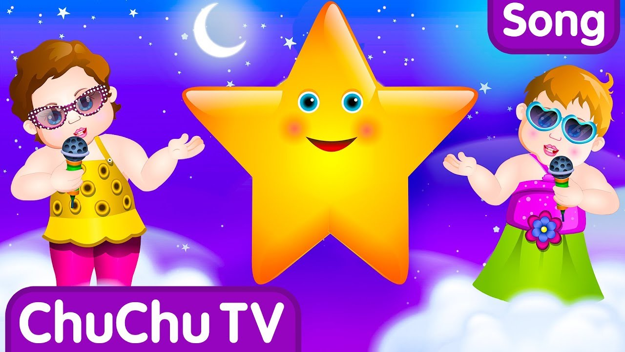 Twinkle Twinkle Little Star Rhyme with Lyrics – English Nursery Rhymes Songs for Children