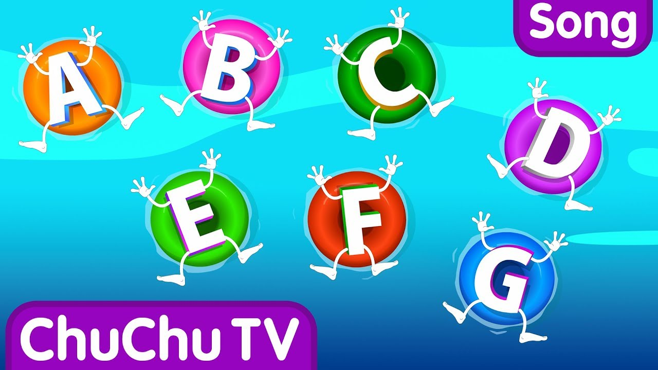 ABC Songs for Children – ABCD Song in Alphabet Water Park – Phonics Songs & Nursery Rhymes
