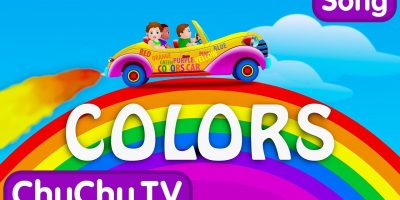 Let's Learn The Colors! – Cartoon Animation Color Songs for Children by ChuChuTV