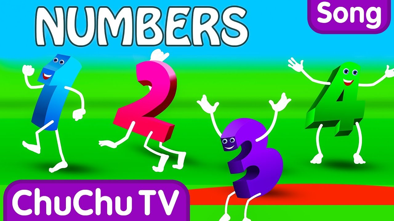 The Numbers Song – Learn To Count from 1 to 10 – Number Rhymes For Children