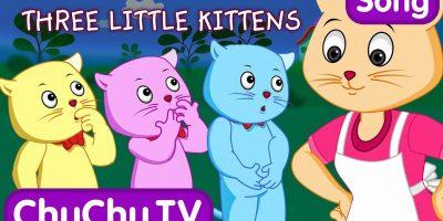 Three Little Kittens   Nursery Rhymes from ChuChu TV Kids Songs