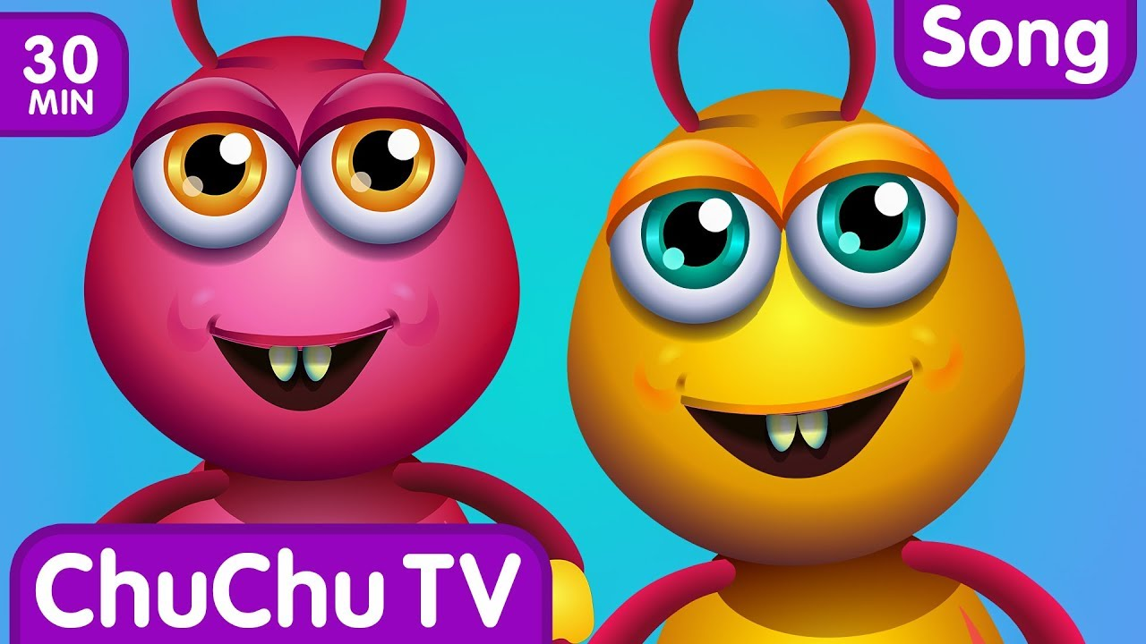 Incy Wincy Spider, Itsy Bitsy Spider and More Videos | Popular Nursery Rhymes by ChuChu TV