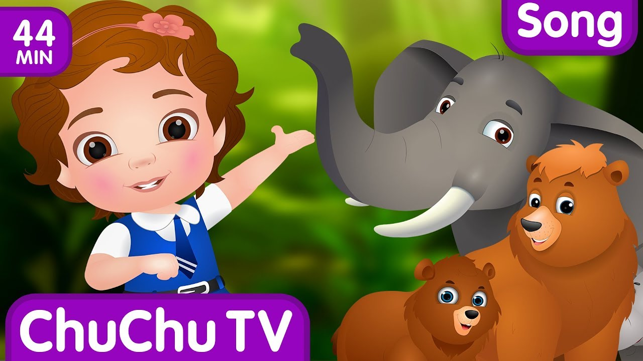 Going To the Forest | Wild Animals for Kids and More Learning Songs & Nursery Rhymes by ChuChu TV