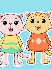 Three Little Kittens | Mother Goose Club Playhouse Kids Song