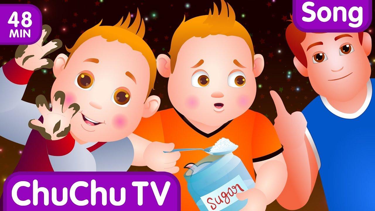 ChuChu TV Nursery Rhymes – US Version Vol.2 | Johny Johny Yes Papa Part 1, Part 2 & More Kids Songs