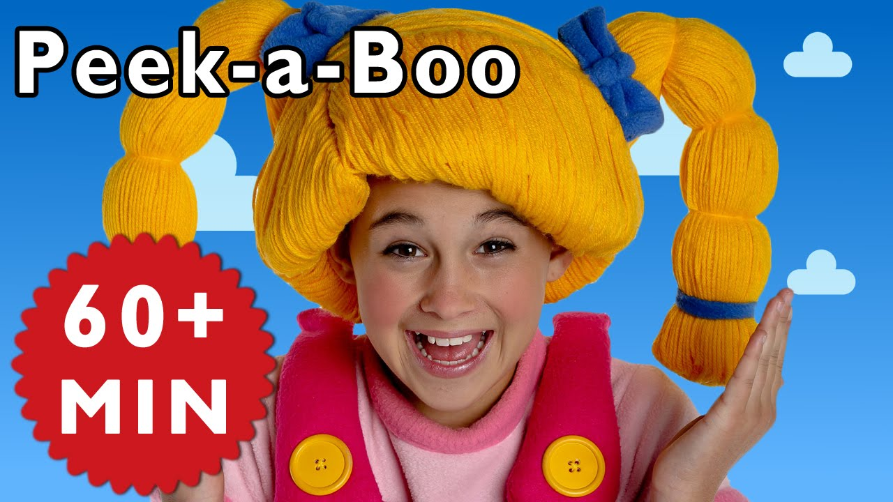 Peek-a-Boo and More | Nursery Rhymes from Mother Goose Club!