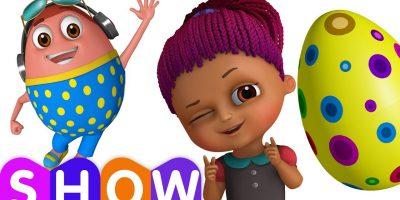 Surprise Eggs Gumball Machine Ball Pit Show for Kids   Learn YELLOW Colour   ChuChuTV Funzone 3D