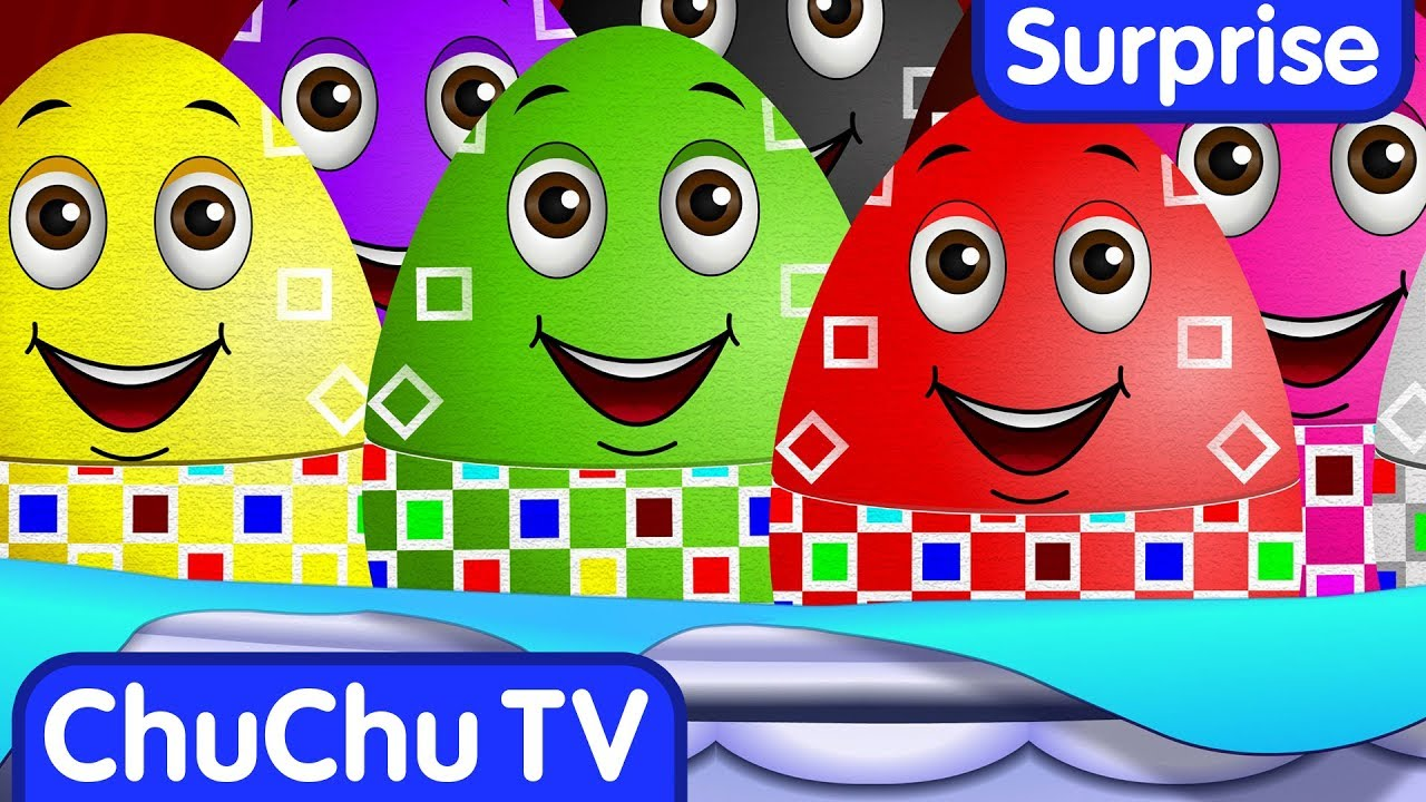 Surprise Eggs Toys for Learning Numbers – Learn To Count 1 to 10 | ChuChu TV Egg Surprise for Kids