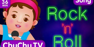 Wheels On The Bus and Many More Nursery Rhymes Karaoke Songs Collection | ChuChu TV Rock 'n' Roll
