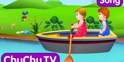 Row Row Row Your Boat Nursery Rhyme with Lyrics – Lullaby Songs for Babies by ChuChuTV