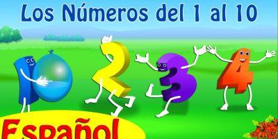 Cancion de los Números | Los Números del 1 al 10 | Canciones Infantiles Educativas | ChuChu TV